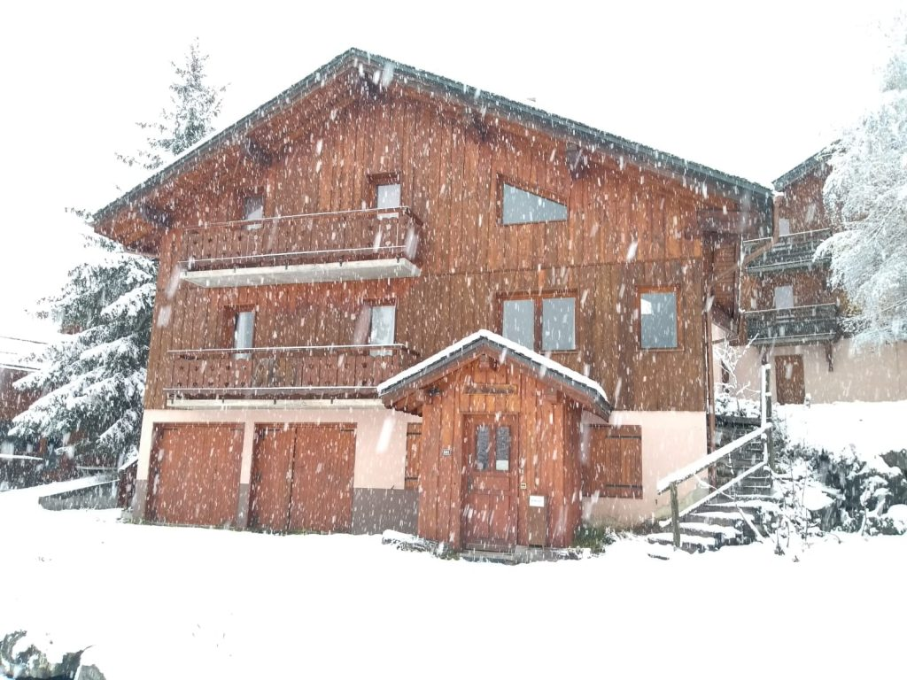 A picture which shows chalet Amber in La Tania