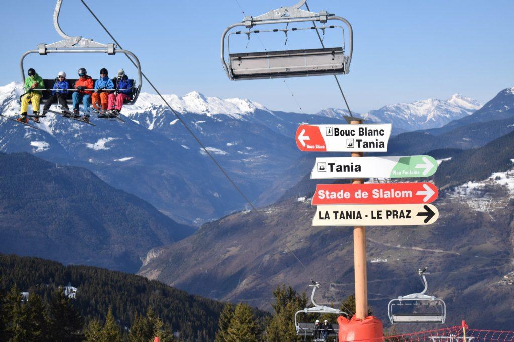 Catered ski chalets in La Tania